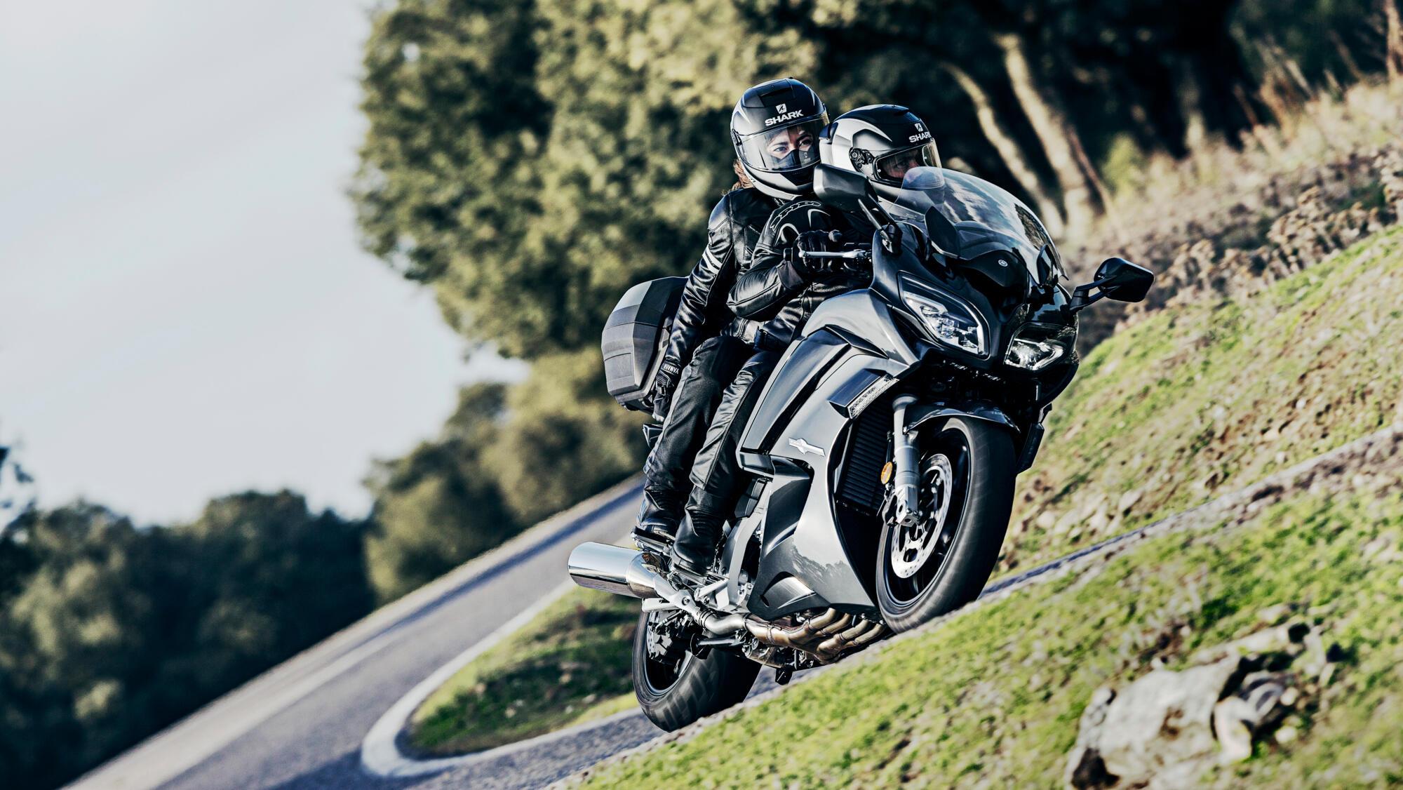 Mejores motos para viajar: Yamaha FJR1300A