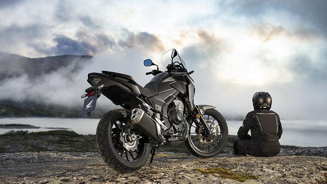 Mejores motos para viajar: Honda CB500X
