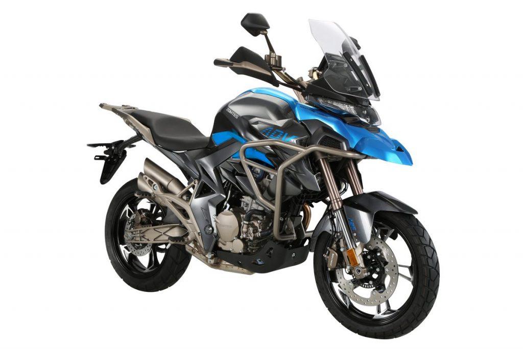 Mejores motos para viajar: Zontes T310